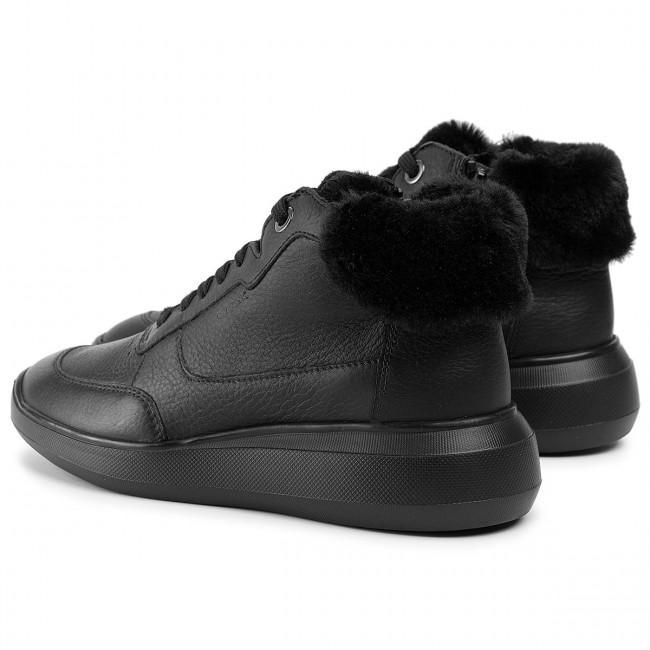 Sportcipő GEOX - D Rubidia B D94APB 046BH C9999 Black - Sneakers - Félcipő - Női