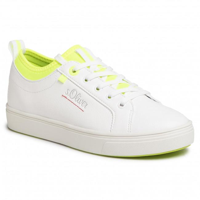 Sportcipő BIG STAR - FF274481 White/Green - Sneakers - Félcipő - Női