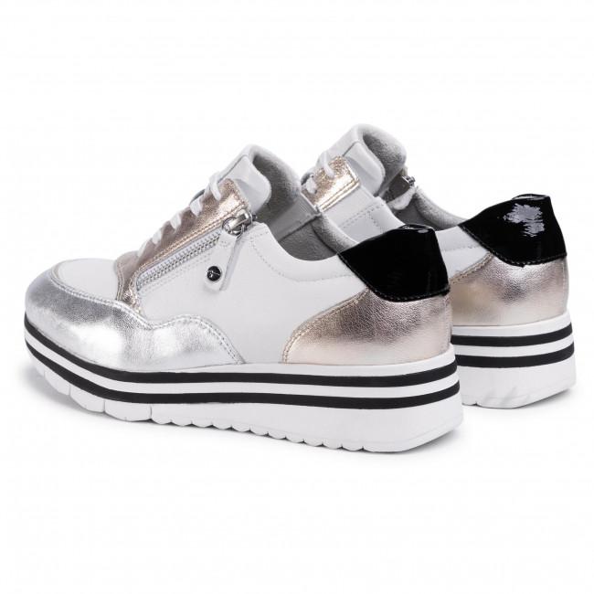 Sportcipő TAMARIS - 1-23707-24 White Comb 197 - Sneakers - Félcipő - Női