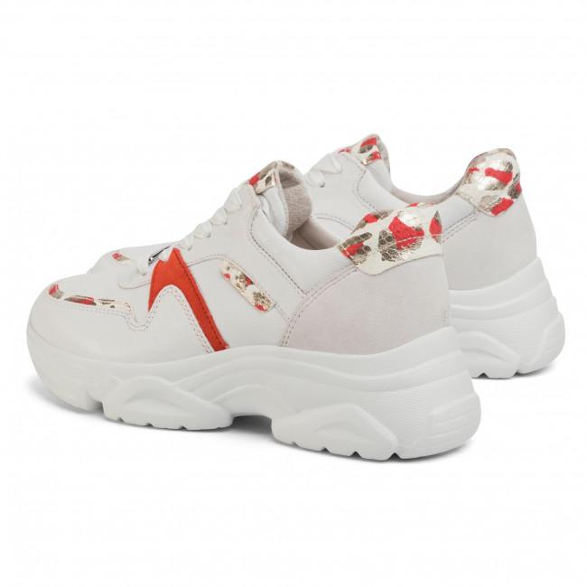 Sportcipő GABOR - 43.470.25 Weiss/Rubin - Sneakers - Félcipő - Női