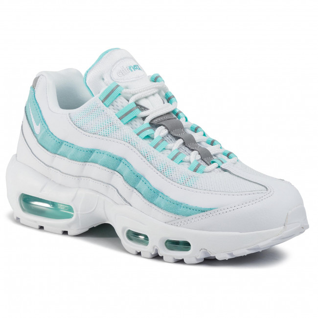 premium selection outlet for sale where can i buy Cipő NIKE - Air Max 95 307960 115 White/White/Light Aqua ...