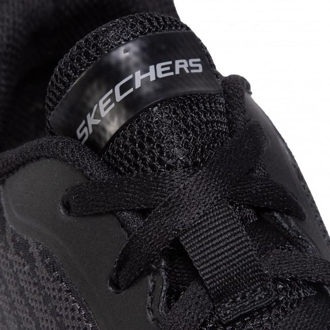 Cipő SKECHERS - Verkona 232004/BBK Black - Fitnesz - Sport - Férfi