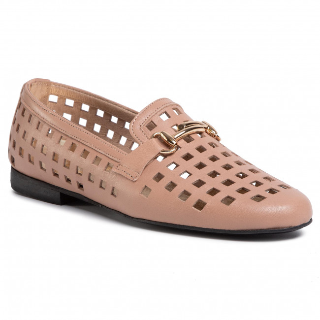 Lords KARINO - 2880/007-P Jasny Brąz - Lords cipők - Félcipő - Női WL53unrs
