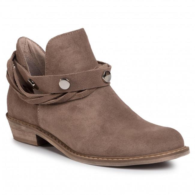 Magasított cipő KARINO - 3339/007-P Jasny Brąz