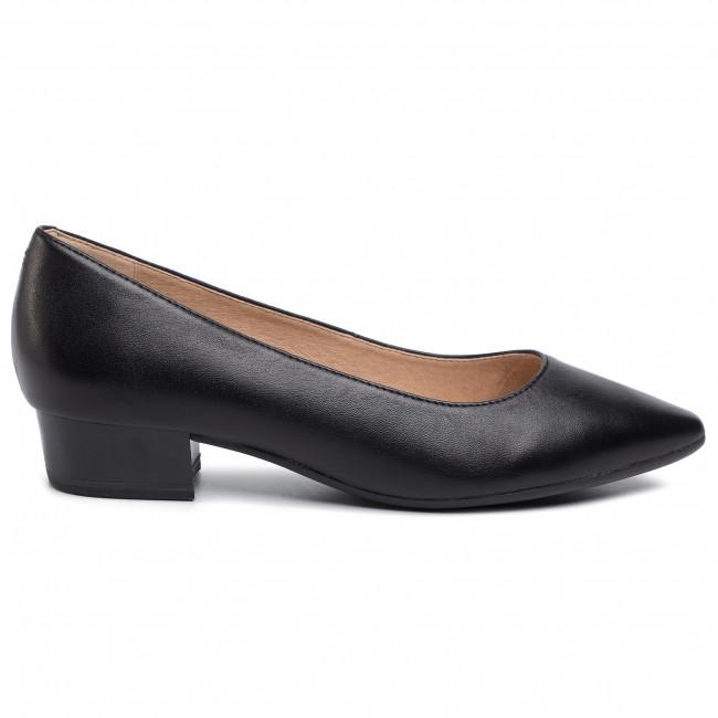 1 22304 29 018 BLACK PATENT Fekete (39) Női telitalpú cipő