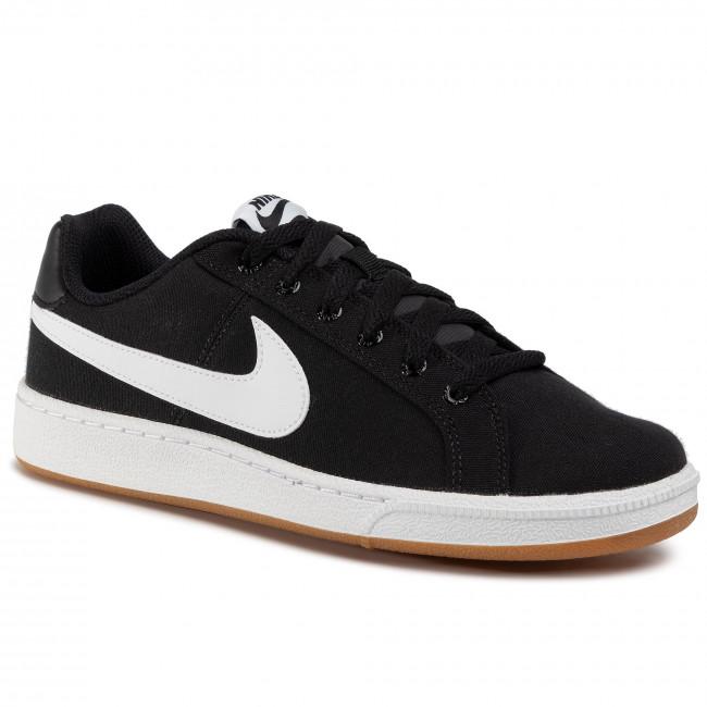 Cipő NIKE - Court Royale Canvas AA2156 005 Black/White/Gum Light Brown - Sneakers - Félcipő - Férfi