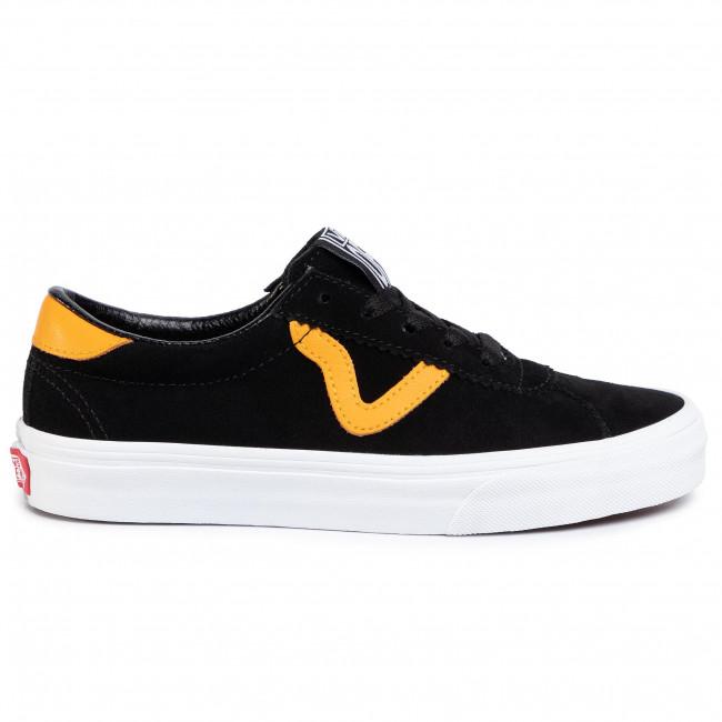 Sportcipő VANS - Sport VN0A4BU6XW21 Black/Cadmium Yellow - Sneakers - Félcipő - Női
