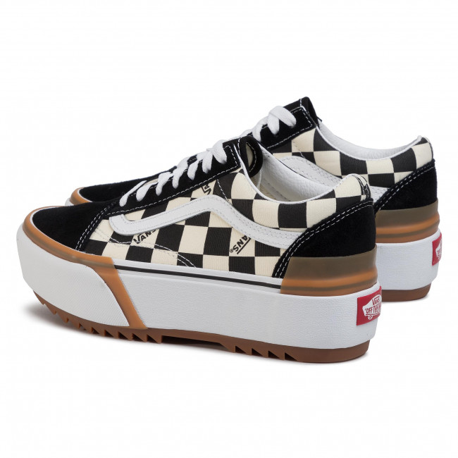 Teniszcipő VANS Old Skool Stacked VN0A4U15VLV1 (Checkerboard) MultiTrue