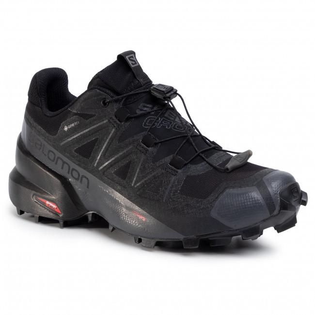Cipő SALOMON Speedcross 5 Gtx W GORE TEX 407954 25 V0 BlackBlackPhantom