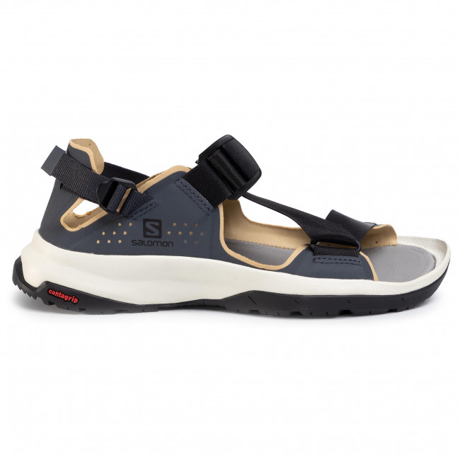 Szandál SALOMON Tech Sandal 409147 20 M0 India inkBlackTaos Taupe