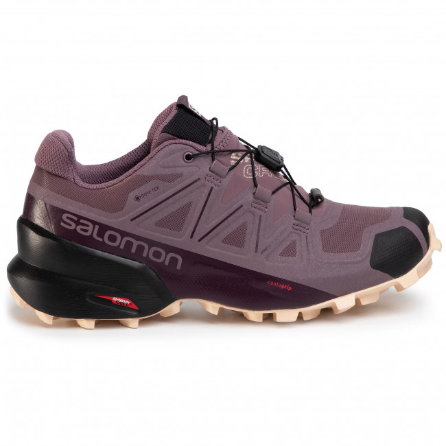 Cipő SALOMON Speedcross 5 Gtx W GORE TEX 409574 25 V0 FlintBlackBellini