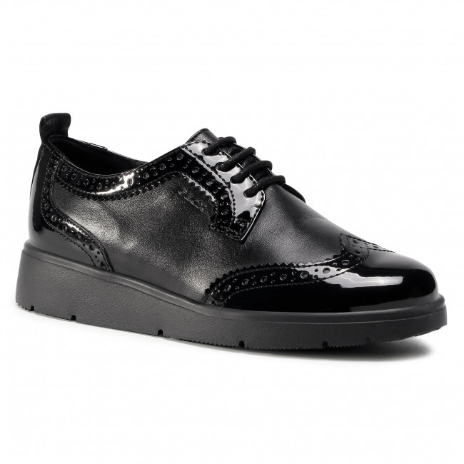 Oxford cipők GEOX - D Arlara I D04LCI 08502 C9999 Black