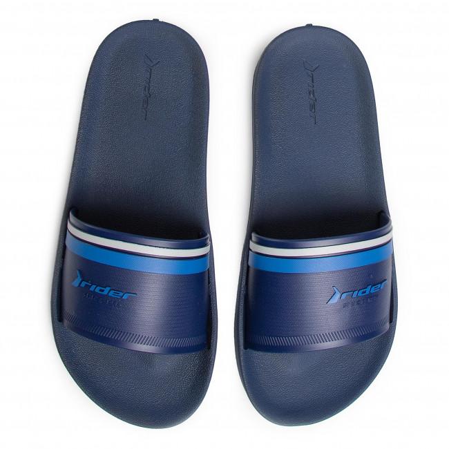 Rendelés Férfi Cipők Papucs RIDER - Strike Plus Slide Ad 11491 Blue/Grey 21567 - Papucsok - Papucsok és szandálok - Férfi sH0nCETn