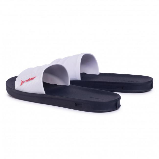 Szakmai Férfi Cipők Papucs RIDER - Street Slide Ad 11578 Black/White 20829 - Papucsok - Papucsok és szandálok - Férfi vrPE6zMn