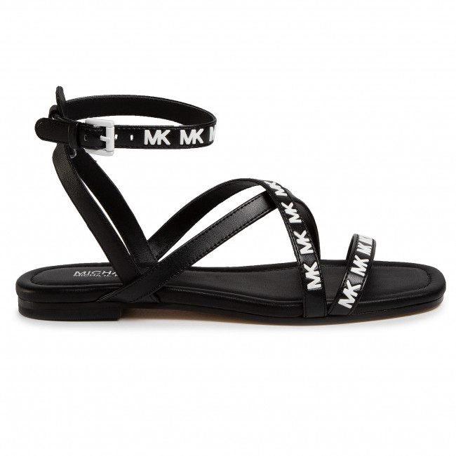 Szandál MICHAEL MICHAEL KORS - Tasha Flat Sandal 40S0TAFA1L Black - Hétköznapi szandálok - Szandálok - Papucsok és szandálok - Női