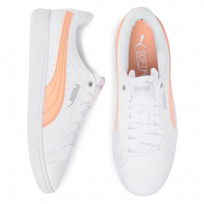 Sportcipő PUMA - Vikky V2 Zb 371110 02 White/Cantaloupe/Silver - Sneakers - Félcipő - Női