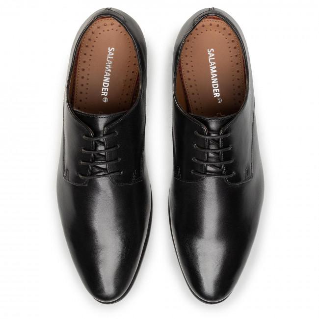 Népszerű És Olcsó Férfi Cipők Félcipő SALAMANDER - Fartino 31-81706-01 Black - Alkalmi - Félcipő - Férfi 59QBS9r6
