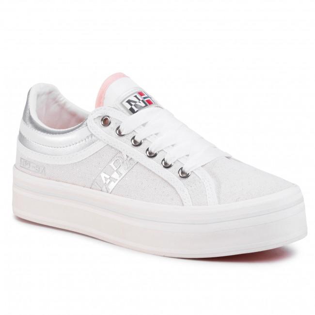 Sportcipő NAPAPIJRI - Nest NP0A4ESX0 White/Silver 2Z1