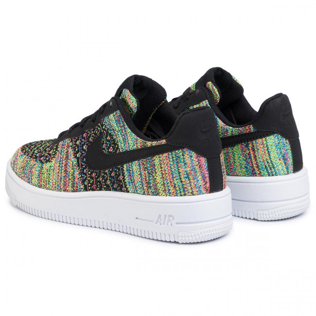 Cipő NIKE Air Force 1 Flyknit 2.0 (Gs) BV0063 002 BlackBlackHyper PinkVolt