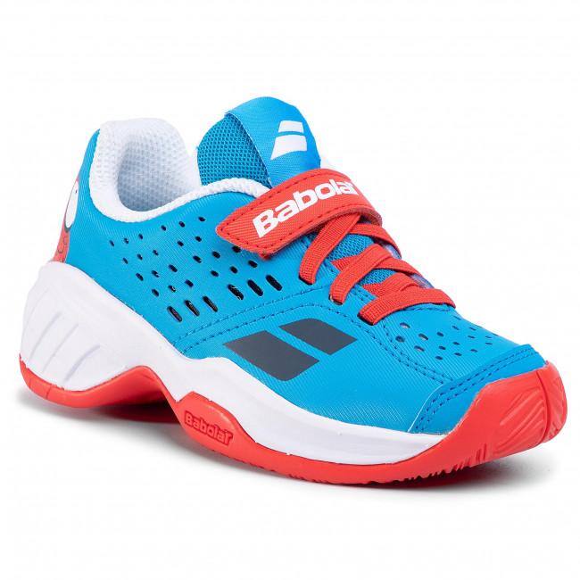 Cipő BABOLAT - Pulsion All Court Kid 32S20518 Tomato Red/Blue Aster