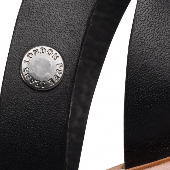 Megfizethető Női Cipők Szandál PEPE JEANS - March Basic PLS90441  Back 999  - Hétköznapi szandálok - Szandálok - Papucsok és szandálok - Női EblGgi4q