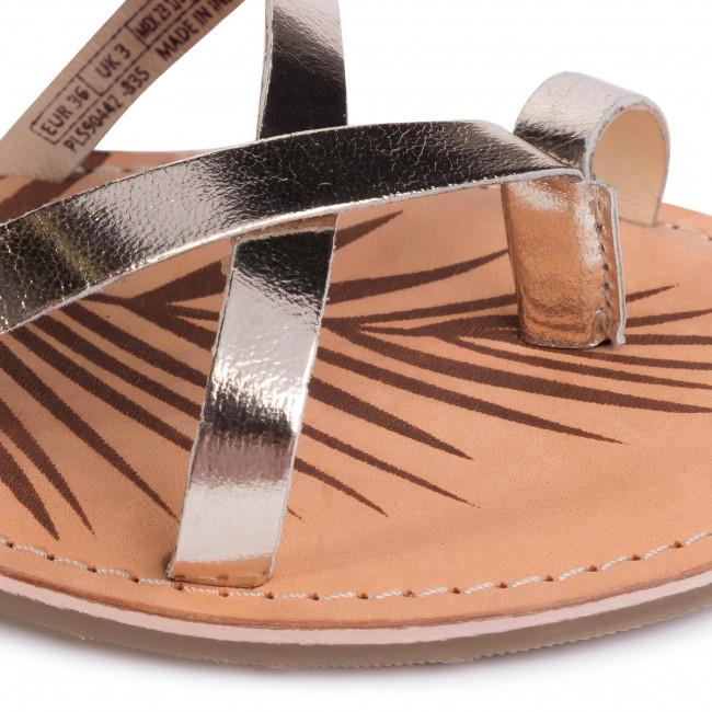 2020 Új Női Cipők Szandál PEPE JEANS - March Basic Metal PLS90442  Champagne 835 - Hétköznapi szandálok - Szandálok - Papucsok és szandálok - Női fifcK5jL