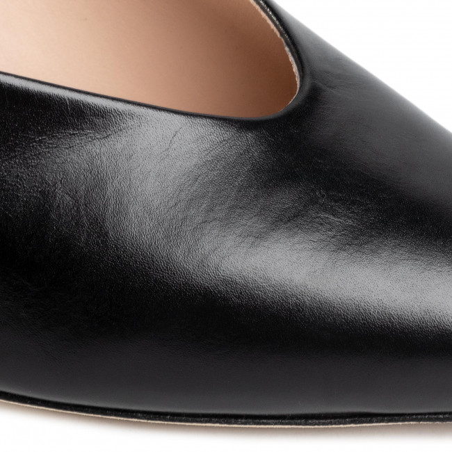 Papucs STUART WEITZMAN - Lulah S5498 Black - Hétköznapi papucsok - Papucsok - Papucsok és szandálok - Női