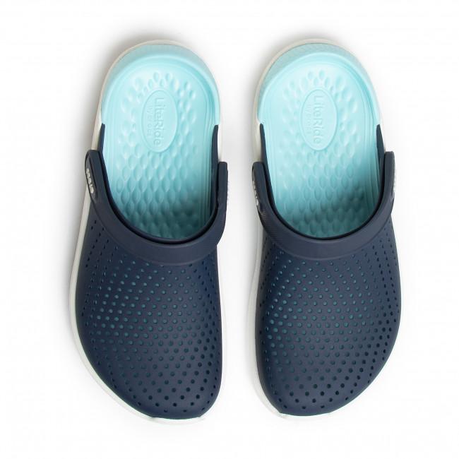 Gyári Akció Férfi Cipők Papucs CROCS - Literide Clog 204592  Navy/Almost White - Hétköznapi papucsok - Papucsok - Papucsok és szandálok - Női lO9EWKFZ