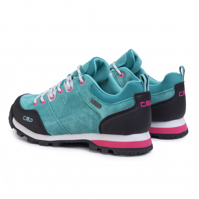 Bakancs CMP - Alcor Low Wmn Trekking Shoes Wp 39Q4896  Lake E813  - Túracipő - Félcipő - Női