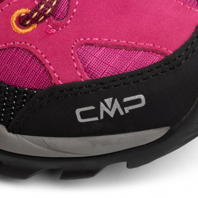 Bakancs CMP - Rigel Low Wmn Trekking Shoes Wp 3Q54456 Bouganville/Goji 06HE - Túracipő - Félcipő - Női