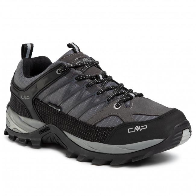 Bakancs CMP - Rigel Low Trekking Shoes Wp 3Q54457 Grey U862