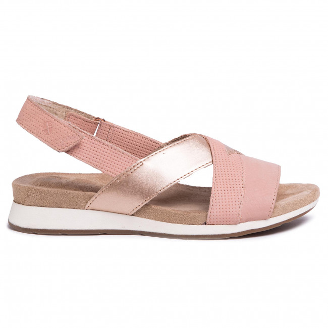 Szandál HUSH PUPPIES Pepper Slingback HW06538 Pale Peach Nubuck 213