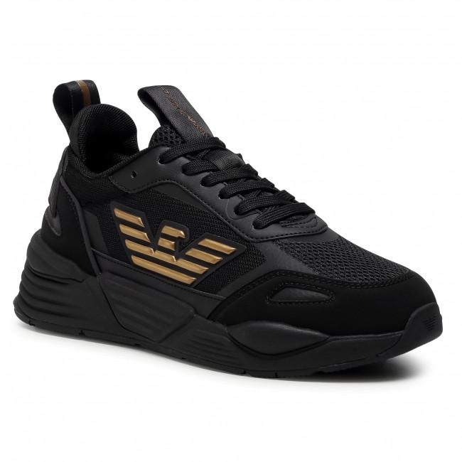 Sportcipő EA7 EMPORIO ARMANI - X8X070 XK165 M701  Triple Black/Gold