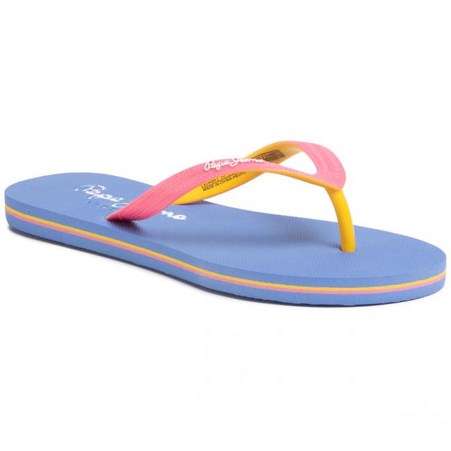 Vietnámi papucsok PEPE JEANS - Beach Basic Girl PGS70032 Bright Pink 338