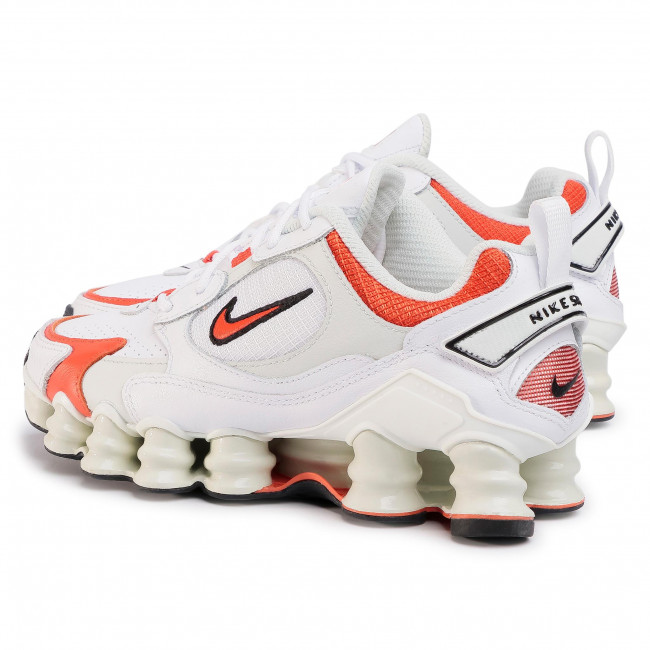 Cipő NIKE - Shox Tl Nova AT8046 101 White/Team Orange/Spruce Aura - Sneakers - Félcipő - Női