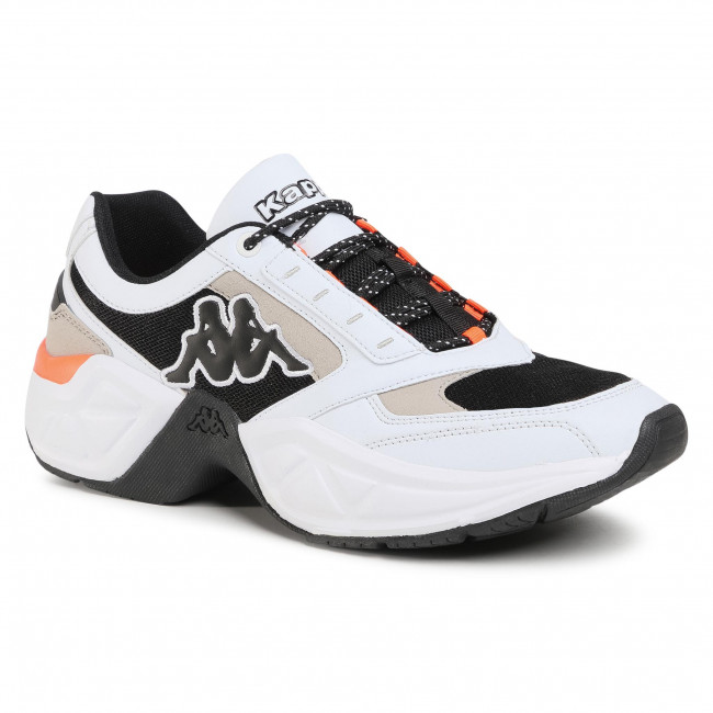 Sportcipő KAPPA - Krypton 242744  White/Black 1011