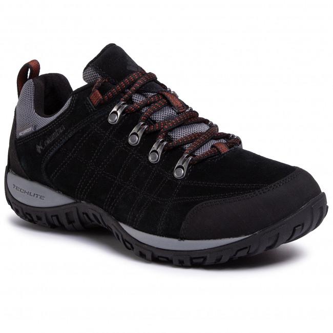Bakancs COLUMBIA - Peakfreak Venture S II Wp BM0827 Black/Dark Adobe 010 - Túracipők - Félcipő - Férfi T4Qbpq8d