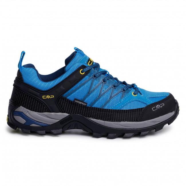 Bakancs CMP - Rigel Low Trekking Shoes Wp 3Q54457 Indigo/ Marine 02LC - Túracipők - Félcipő - Férfi