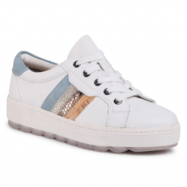 Sportcipő JANA - 8-23629-24 White/Blue 180