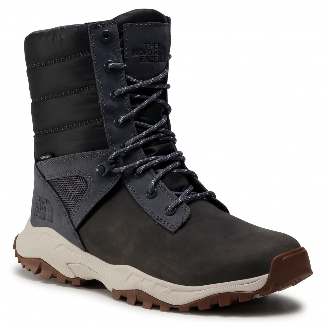 Hótaposó THE NORTH FACE - Thermoball Boot Zip-Up NF0A4OAI9T31 Asphalt Grey/Vintage White