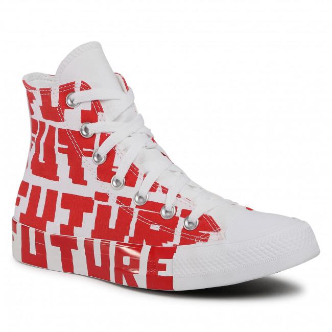 Tornacipő CONVERSE - Ctas Hi 168554C University Red/White/White