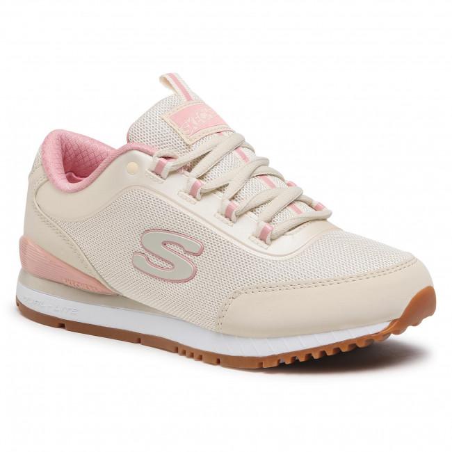 Sportcipő SKECHERS - Casual Daze 155031/NAT Natural