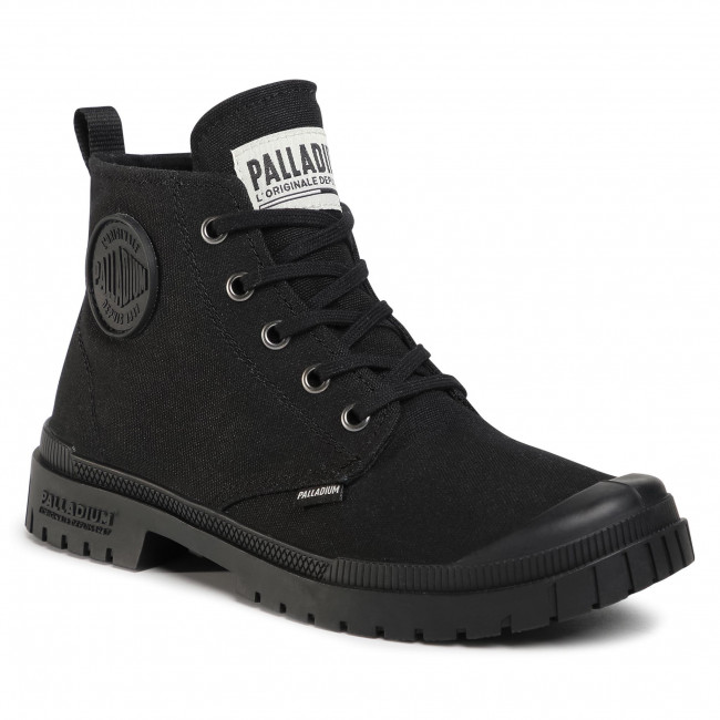 Túrabakancs PALLADIUM - Pampa Sp20 Hi Cvs 76838-008-M Black/Black