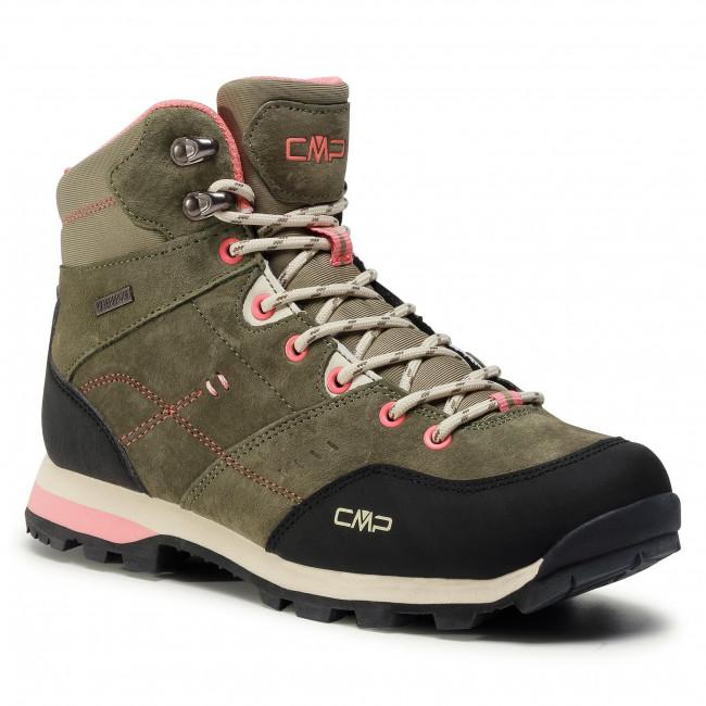 Túracipő CMP - Alcor Mid Wmn Trekking Shoes Wp 39Q4906 Kaki F854