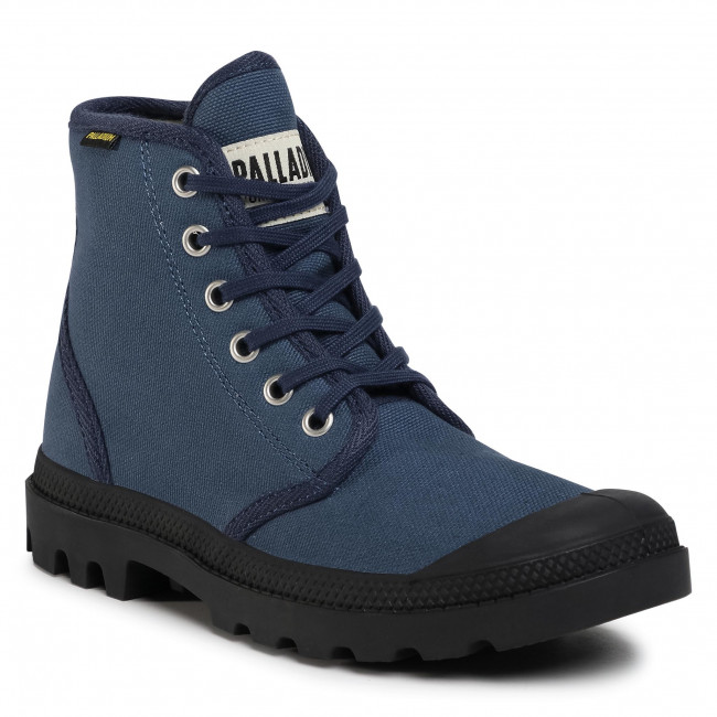 Túrabakancs PALLADIUM - Pampa Hi Originale 75349-426-M Mood Indigo/Black