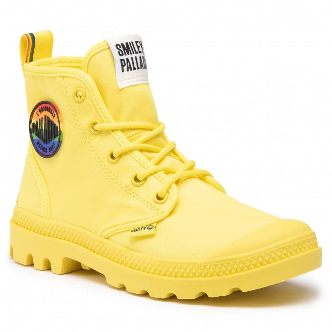 Túrabakancs PALLADIUM - Pampa Smiley Pride 76879-736-M Yellow