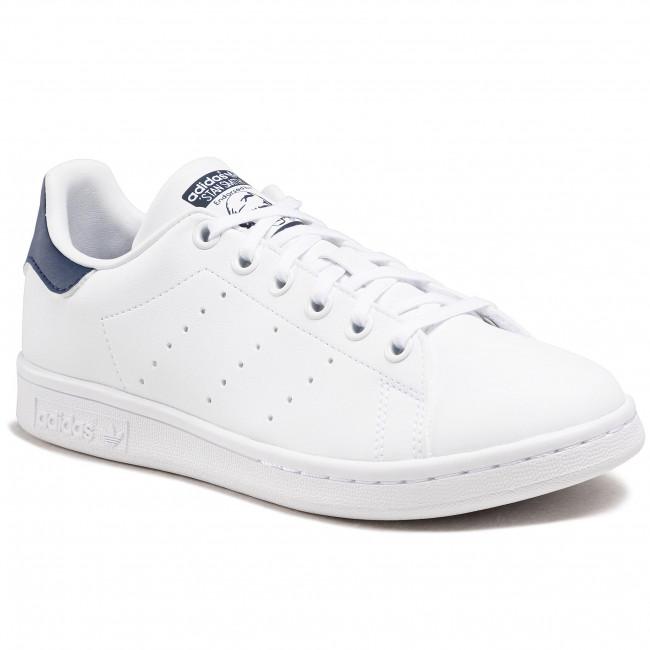 Cipő adidas - Stan Smith J H68621 Ftwwht/Ftwwht/Dkblue