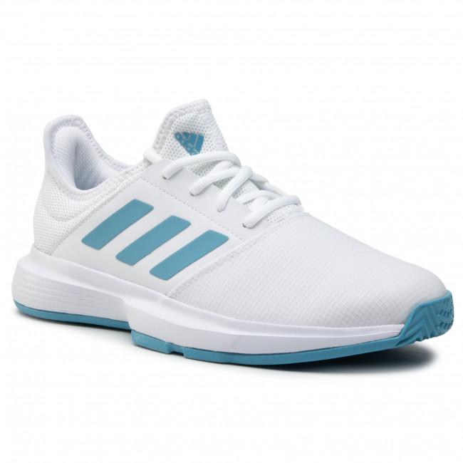 Cipő adidas - GameCourt M FX1552 Ftwwht/Hazblu/Halblu
