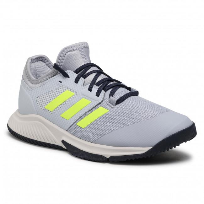 Cipő adidas - Court Team Bounce M FZ2614 Halsil/Hireye/Halblu