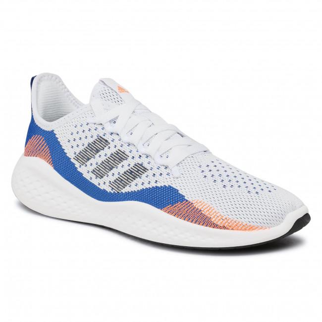 Cipő adidas - Fluidflow 2.0 FY5959 Ftwwht/Cblack/Royblu